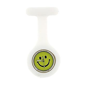 Boxx White Smiley Face Infection Control Gel Professional Fob Watch Boxx105