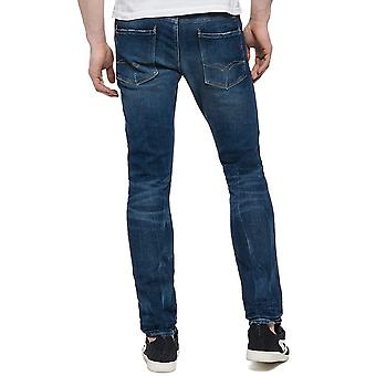 Replay Anbass Slim fit Jeans dunkel