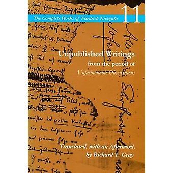 Ongepubliceerde geschriften uit de periode van onmodieuze waarnemingen-V