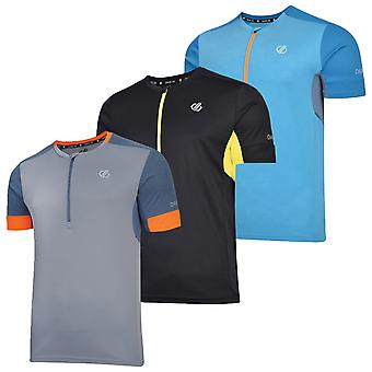 Dare 2b Mens Equal Lightweight Quick Dry Wicking Cycling Jersey T-Shirt