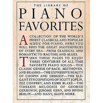 Library Of Piano Favorites by Amy Appleby - 9780825616136 Book