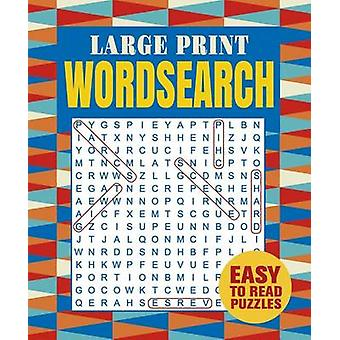 Large Print Wordsearch by Arcturus Publishing - 9781784282776 Book