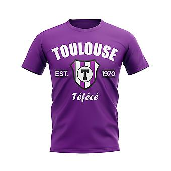 Toulouse Established Football T-Shirt (Purple)