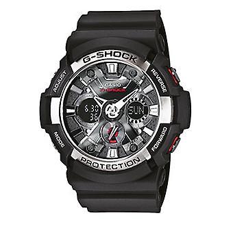 Casio G-Shock Men's Black Alarm Chronograph Watch GA-200-1AER