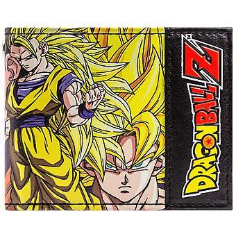 Toei Dragonball Z Goku & Vegeta ID & kortti kaksoistaitos lompakko