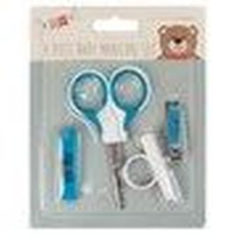 Little Stars 4 Piece Baby Manicure Set - Blue