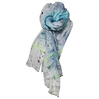 Ombre Bold Coloured Printed Scarf