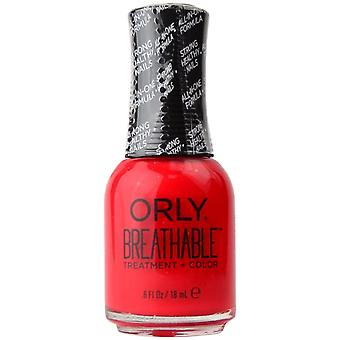 Orly ademende behandeling & Colour-Love My Nails 18ml (OR905)