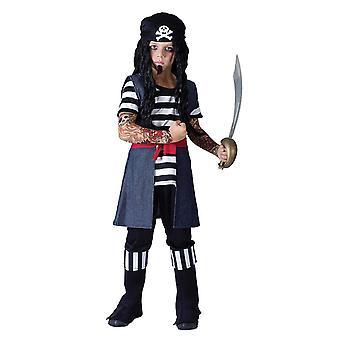 Bristol Novelty Boys Tattooed Pirate Costume