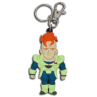 Key Chain - Dragon Ball Z - New SD Android 16 Toy Licensed ge85374