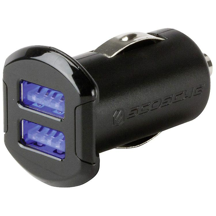 Scosche Revolt C2 Dual USB Auto Car Charger with 2x12W for iPad iPhone