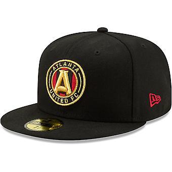 New Era 59Fifty Fitted Cap - MLS Atlanta United schwarz
