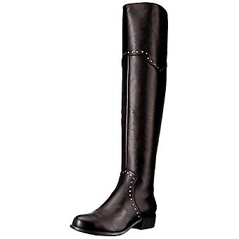 Aerosoles Womens West Side Deri Badem Ayak Diz Moda Boots Over