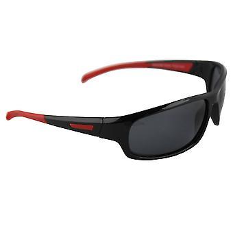 Gafas de sol Hombres Polaroid Sport - Rojo /Negro con brillenkokerS329_1 gratis