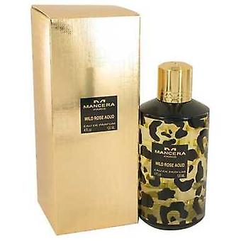 Mancera Wild Rose Aoud Por Mancera Eau De Parfum Spray (unisex) 4 Oz (mujeres) V728-536916
