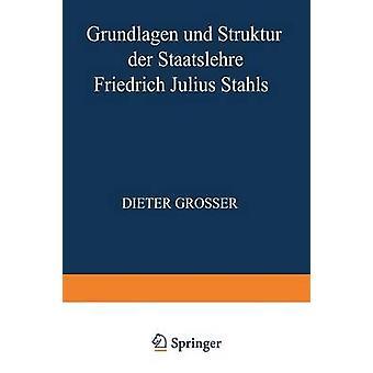 Grundlagen und Struktur der Staatslehre Friedrich Julius Stahls door Grosser & Dieter