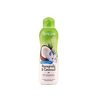 Tropiclean Awapuhi & Coconut Natural Bright Coat Whitening Pet Shampoo