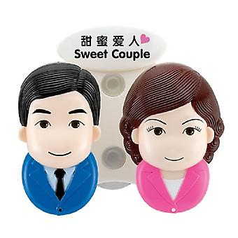 Toothbrush Holder-Sweet Couple