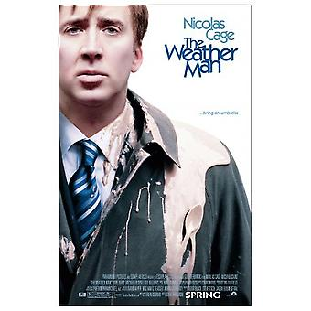 The Weather Man (Double Sided Regular) (2005) Cartel original del cine