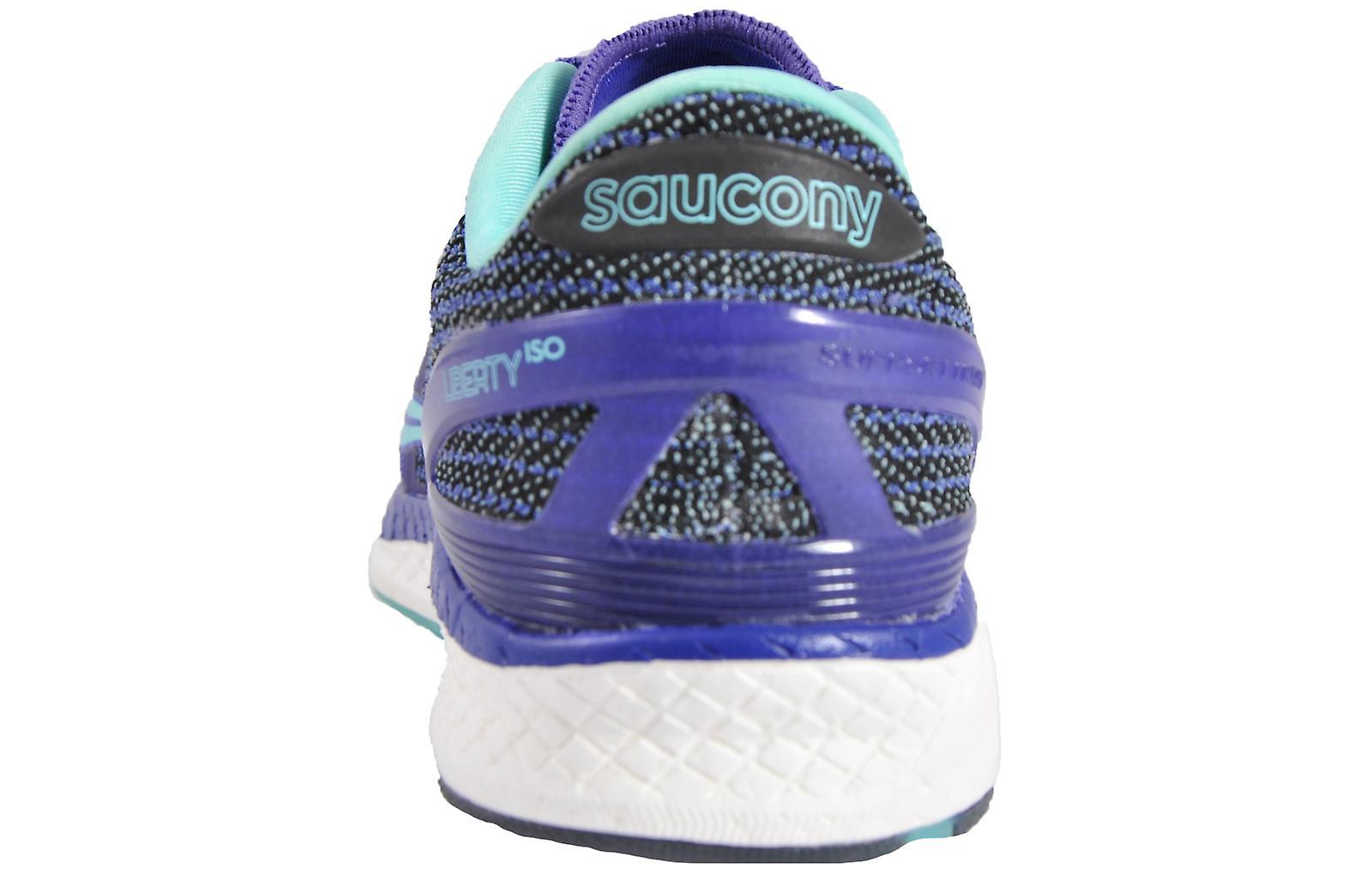 Saucony Liberty ISO Violet / Aqua
