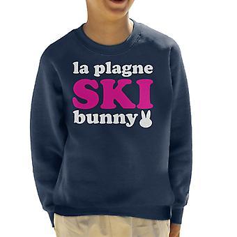 La Plagne Ski Bunny Kid's Sweatshirt