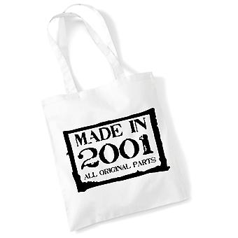 18th Birthday Tote Bag Made In 2001 Novelty Birthday Gifts 18th Birthday Tote Bag Made In 2001 Novelty Birthday Gifts 18th Birthday
