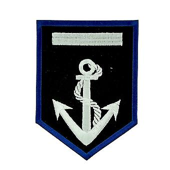 Patch Ecusson Brode Flag Backpack Anchor Marine B-Teau Blason Thermocollant