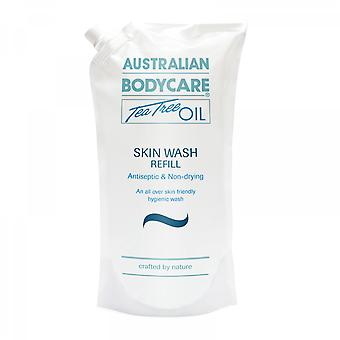 Australian Bodycare Skin Wash Refill Antiseptic Tea Tree Oil Bodywash - 1000ml