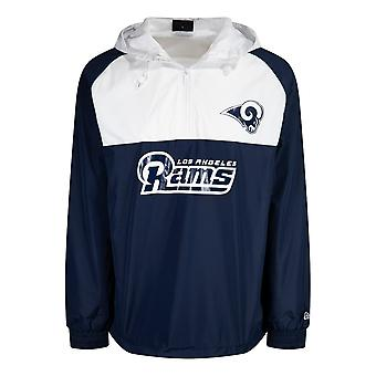 New Era BLOCK Windbreaker Jacket - Los Angeles Rams