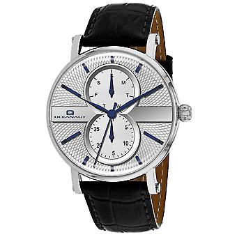 Oceanaut Men-apos;s Lexington White Dial Watch - OC0341
