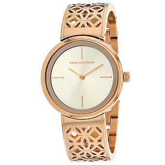 Ted Lapidus Women's Classic Rose gold Dial Watch - A0729URIW