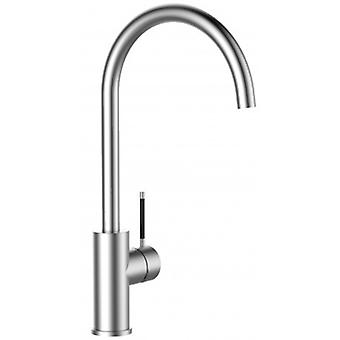 Single-lever 100% Stainless Steel Kitchen Sink Mixer With Swivel Spout - 364