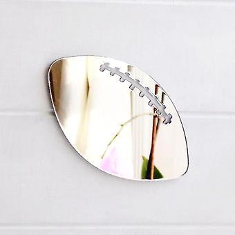 Espelho acrílico de bola de Rugby