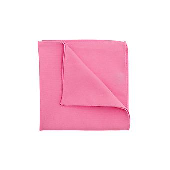 D/Spoke Mens Candy Pink Pocket Square Fazzoletto Senatura Sera Partywear Accessorio