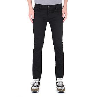 Diesel Troxer Pantaloni Slim Fit Black Denim Jeans