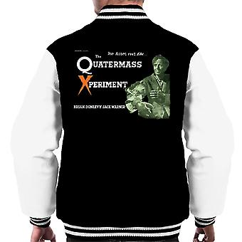 Hammer Horror Films No Terror Like Quatermass Xperiment Men's Varsity Jacket