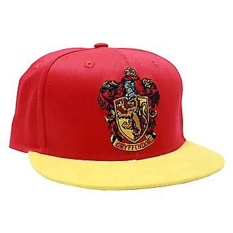 Harry Potter Baseball Cap Gryffindor grzebieniem Logo nowej oficjalnej Snapback czerwony