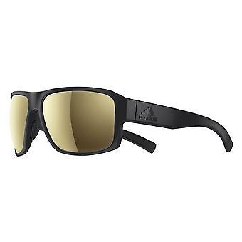 adidas Jaysor SPX Frame Sport Sunglasses - Black Matt - Mirrored