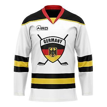 Saksa Etusivu jääkiekko paita