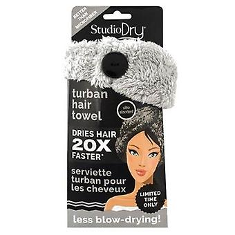 Danielle Creations Glam Goddess Hair Turban Towel - Grey