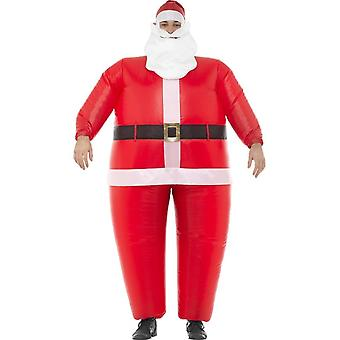 Inflatable Santa Costume, Christmas Adult Fancy Dress, One Size