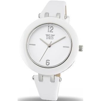 Davis 1881 - horloge lederen witte vrouw