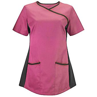 Alexandra Womens/Ladies Medical/Healthcare Stretch Scrub Top