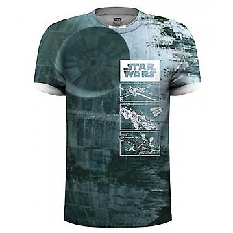 Death Star Star Wars sub TIE fighter officielle T-shirt
