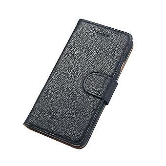 Für iPhone 6 s, 6 Brieftasche Fall, Mode stilvolle Rindsleder echtes Leder Cover, Navy