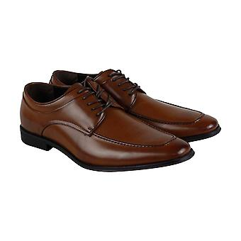 Unlisted by Kenneth Cole Secret Stash Mens Brown Dress Lace Up Oxfords Shoes
