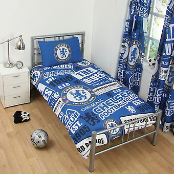 Chelsea FC Patch Bettdecke Set