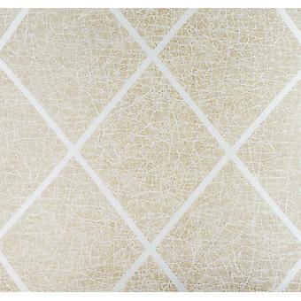 Square Crackle Glitter Era Wallpaper Metallic Textured Vinyl Paste The Wall