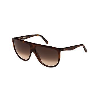 Celine Thin Shadow CL40006I 53K Blonde Havana/Gradient Roviex Sunglasses