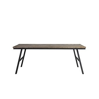 Light & Living Dining Table 200x90x76cm Comasa Antique Grey